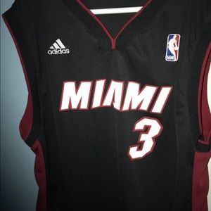 Youth Authentic Heat NBA Jersey